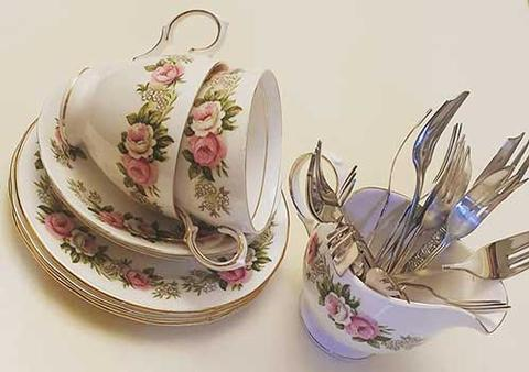 Afternoon tea Crockery Hire in West Sussex